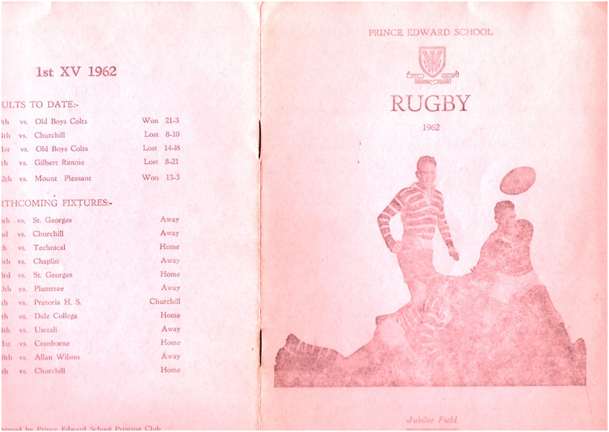 1962_rugby_program_vs_PE