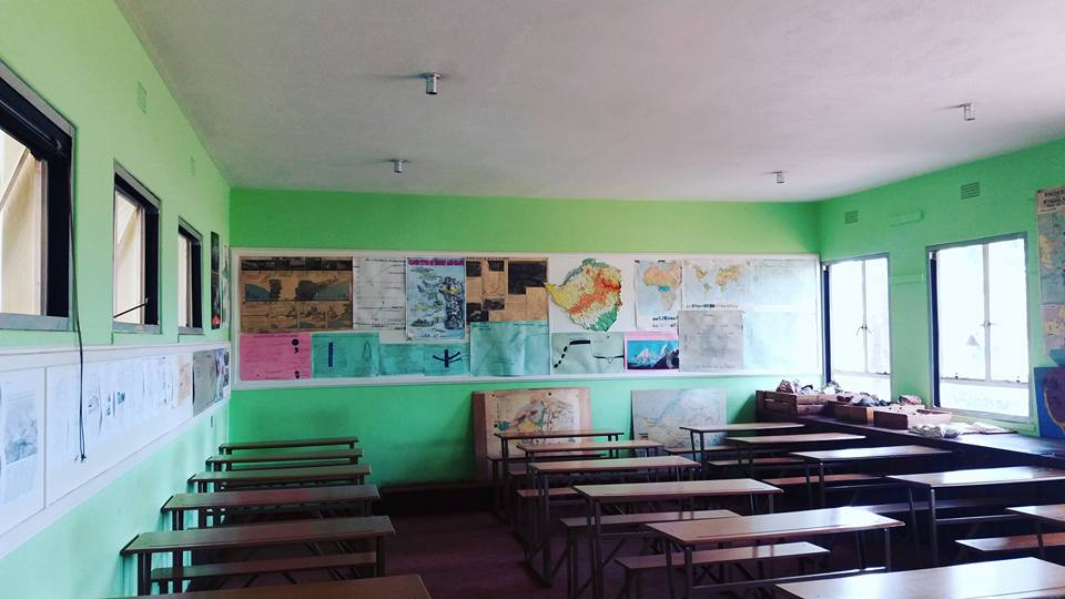 2017_repainted_classroom_green