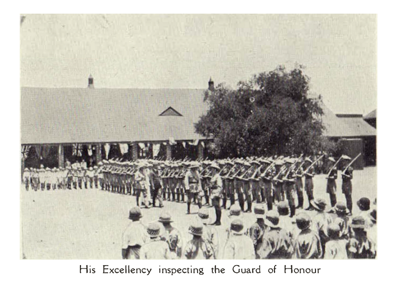1924_cadets_guard_of_honour