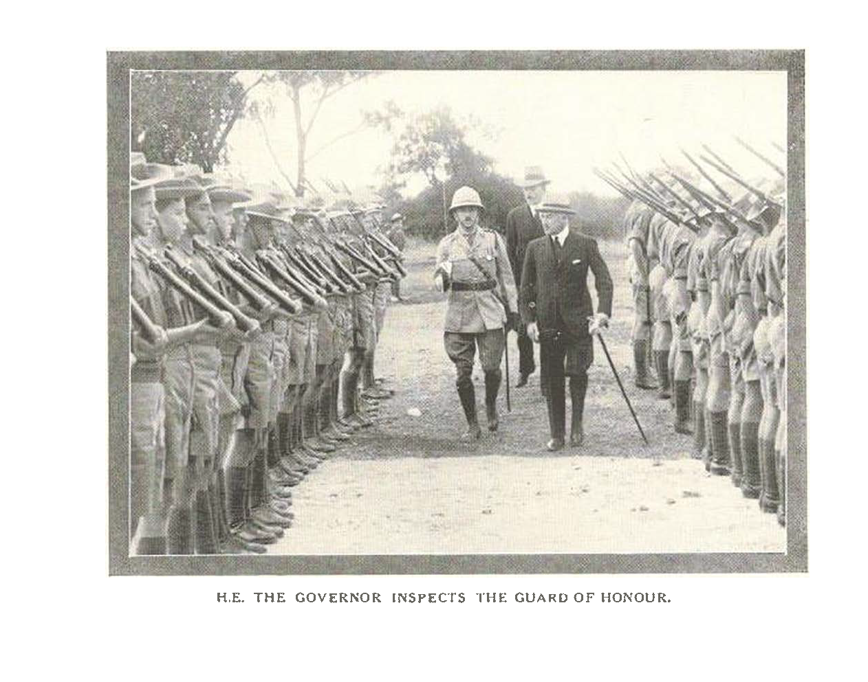 1928_cadets_guard_of_honour