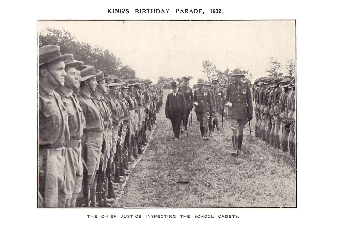 1932_cadets_kings_parade